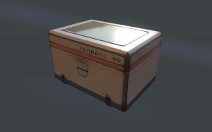 Scifi Crate Box